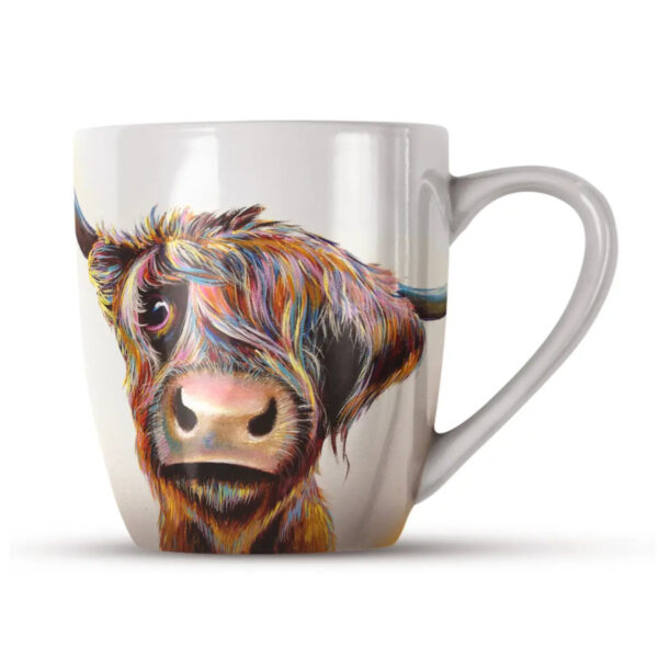 Adam Barsby's - Highland Cow China Mug