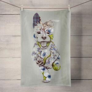 Kat Baxter Rustic Cairn Tea Towel