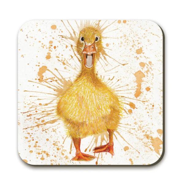 Katherine Williams Splatter Duck Coaster