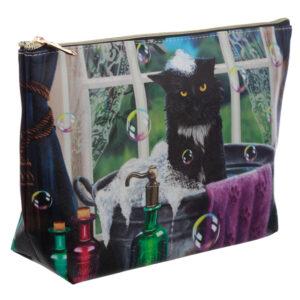 Lisa Parker Bath Time Cat Wash Bag
