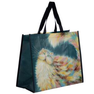 Reusable Shopping Bag - Rainbow Cat Kim Haskins