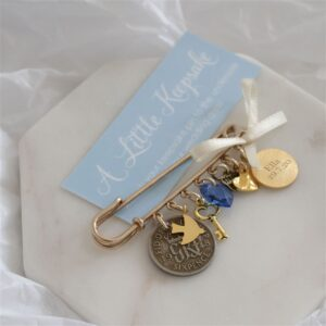 Personalised Wedding Bridal Pin