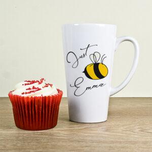 Just Bee You Bone China Latte Mug