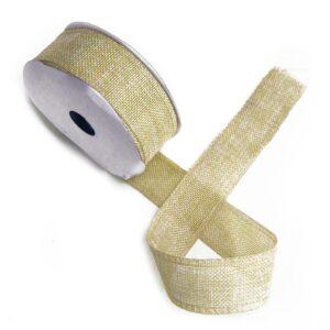 Natural Texture Ribbon 38mm x 20m