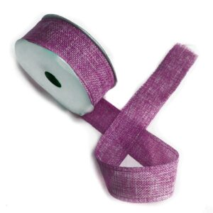 Natural Texture Ribbon French Lavendar