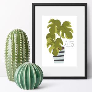 Love Grows Wild 8 x 10 inch Print